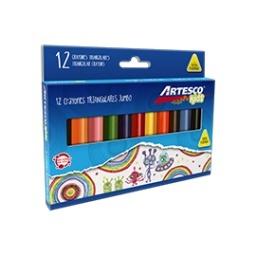Crayones Jumbo Triangulares x 12