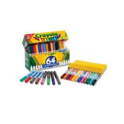 Marcadores Jumbo x 64 Crayola