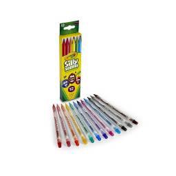 Lápices twistables largos con aroma x 12 Crayola