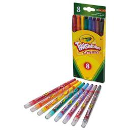 Crayola Ceras x 8 Twistables Largas