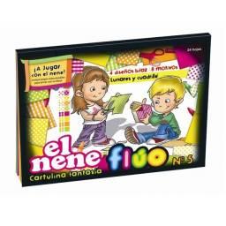 Block EL NENE FANTASIA FLUO A4 (Nº5) 24H