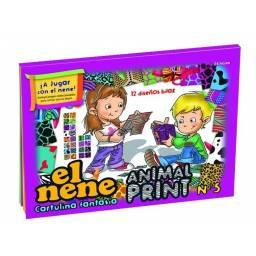 Block EL NENE FANTASIA ANIMAL PRINT A4 (Nº5) 24H