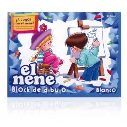 Block EL NENE CART BLANCO 24H 47x32cm (Nº6)