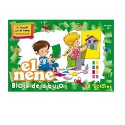 Block EL NENE CART. COLOR N°6 24H 47x32cm (Nº6)