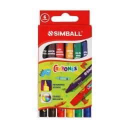 Simball Crayones X 6