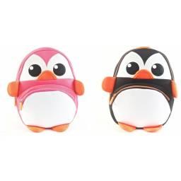 Mochila Pinguino Kooshi Animales 30 cm
