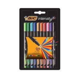 Bic Microfibra INTENSITY ES 6x 10 NEGRO