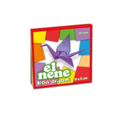 Block El Nene origami pequeño