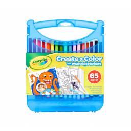 Set marcadores Crayola + hojas