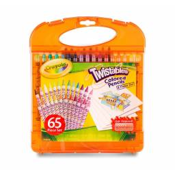 Set lápices twistables Crayola + hojas