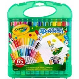 Set Mini Marcadores Crayola + hojas