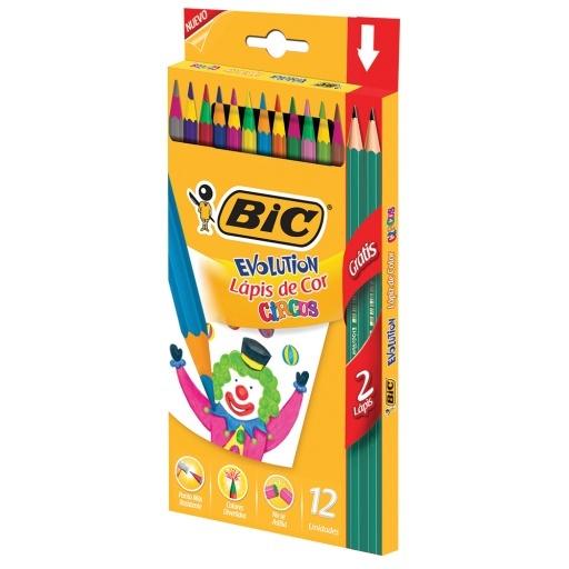 Bic Lapiz Color Evolution Circus