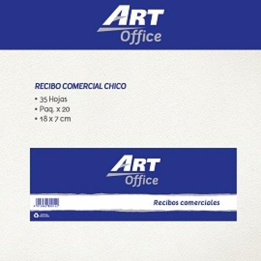 Art-Office Recibo Comercial Chico