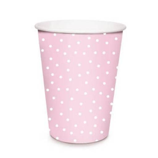 Cromus Vaso de papel 240 ml. Px8