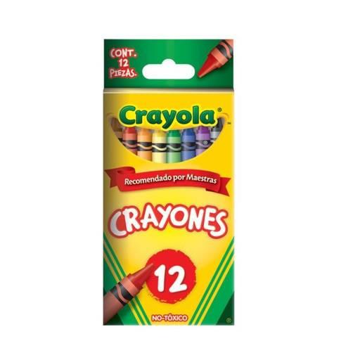 Caja de 12 Crayolas estándar