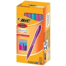 Bic Boligrafos Atlantis Fashion x 12