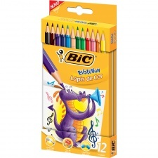 Bic Lapices Color Evolution Estuche 12 Lata