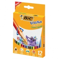 Bic Lapiz Color Evolution Triangular Gigante
