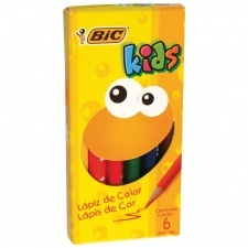 Bic Lapices de Color Kids Cortos x 6