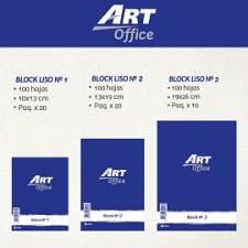 Art-Office Block Blanco Liso