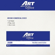 Art-Office Recibo Comercial Chico