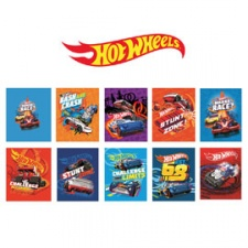 Cuaderno America Hot Wheels