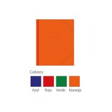 Carpeta Escolar con Elastico (Paq. x 10)