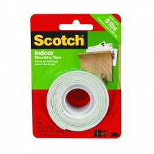 Scotch Cinta de Montaje 12mm. x 2mt.