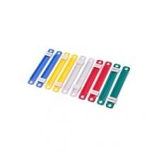 Broche Acco Plastico colores surtidos (caja x 50)