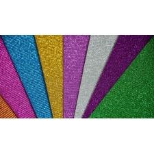 Cartones microcorrugados con brillantina