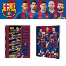 Cuadernola Licencia Ofcial Barcelona F.C. (TD) 80 Hj.
