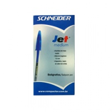 Boligrafo Cristal Schneider Jet Medium (Caja x 50)