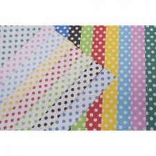 Cartulina Estampada 25 x 35 cm. (Pack x 10 Hj.)
