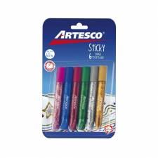Adhesivos Sticky Con Brillantina