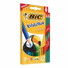 Bic Lapices Evolution Color x 12 Kit