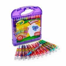 Set de crayolas + hojas Crayola