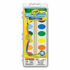 Crayola Acuarelas x 16 surtidas con pincel