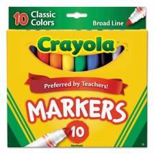 Crayola Marcadores Clásicos x 10 Gruesos