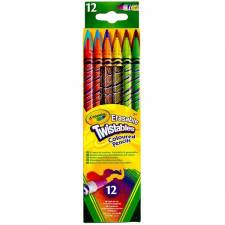 Lápices twistables x 12 Crayola