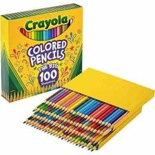 Crayola Lápices de colores x 100 standard