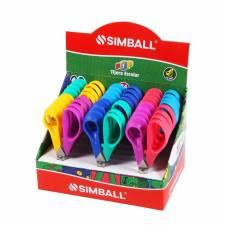 Simball Tijeras 12 CM EN DISPLAY x 24 Pop