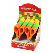 Simball Tijeras 12 CM EN DISPLAY x 24 Smile