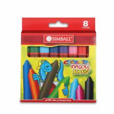 Simball Crayones MAXI JUMBO X 8
