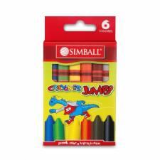 Simball Crayones JUMBO X 6