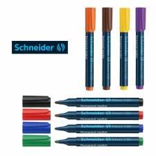 Marcador Schneider 130 Permanente x 10