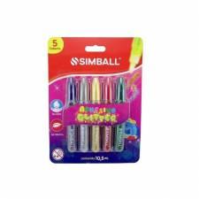 Adhesivo con glitter Simball