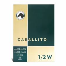 Block Caballito 100 grs.