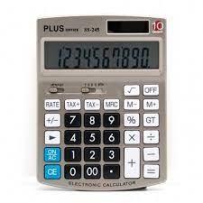 Calculadoras PLUS OFFICE SS 245