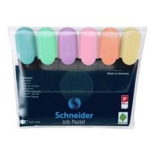 Schneider Resaltadores pastel estuche x 6