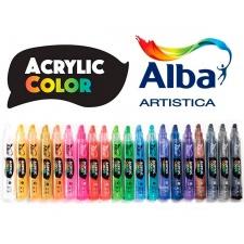 Alba Marcadores de pintura acrilica 6 mm